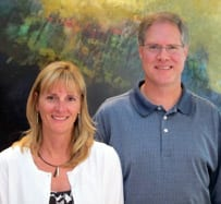 Drs. Amy and Greg Abel