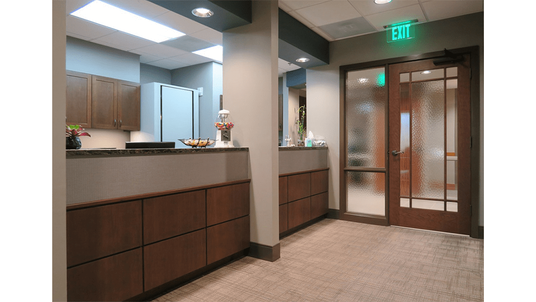 Dr. Baier Dental Office Design, Reappointing