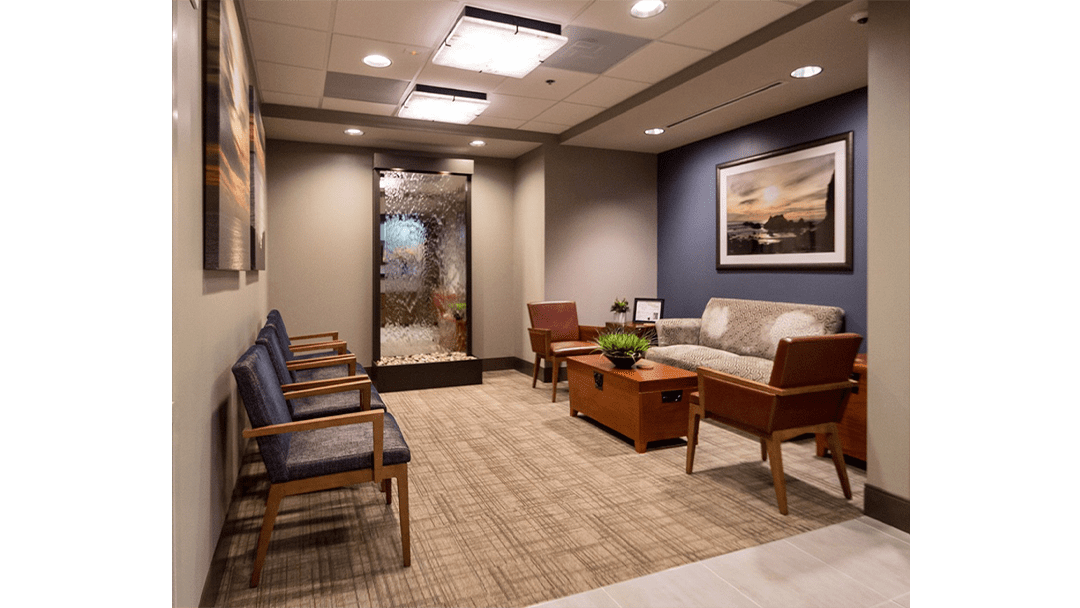 Dr. Baier Dental Office Design, Reception