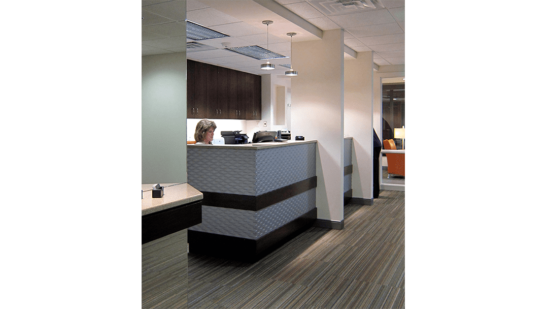 Dr. Bailey Dental Office Design, Reappointing