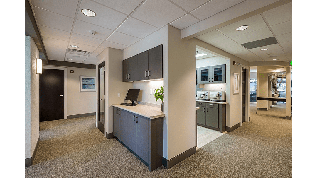 Dr. Barsanti Dental Office Design, Clinical Workstation