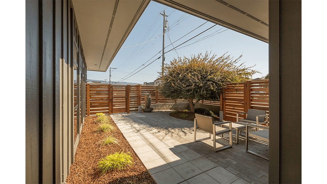 Dr. Barsanti Dental Office Design, Courtyard
