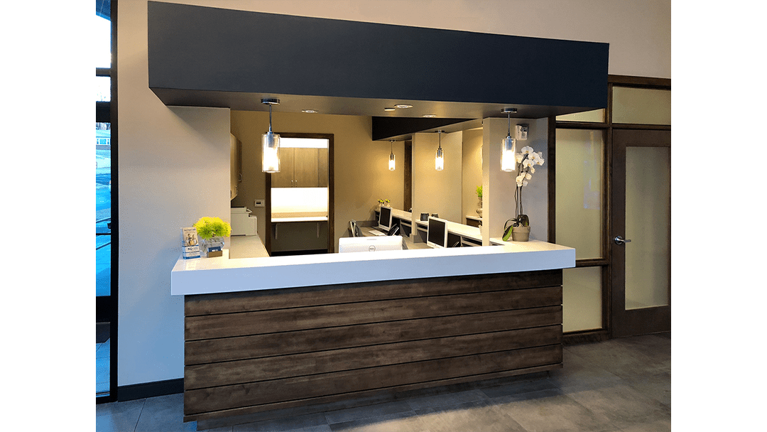 Dr. Brent Dental Office Design Greeting