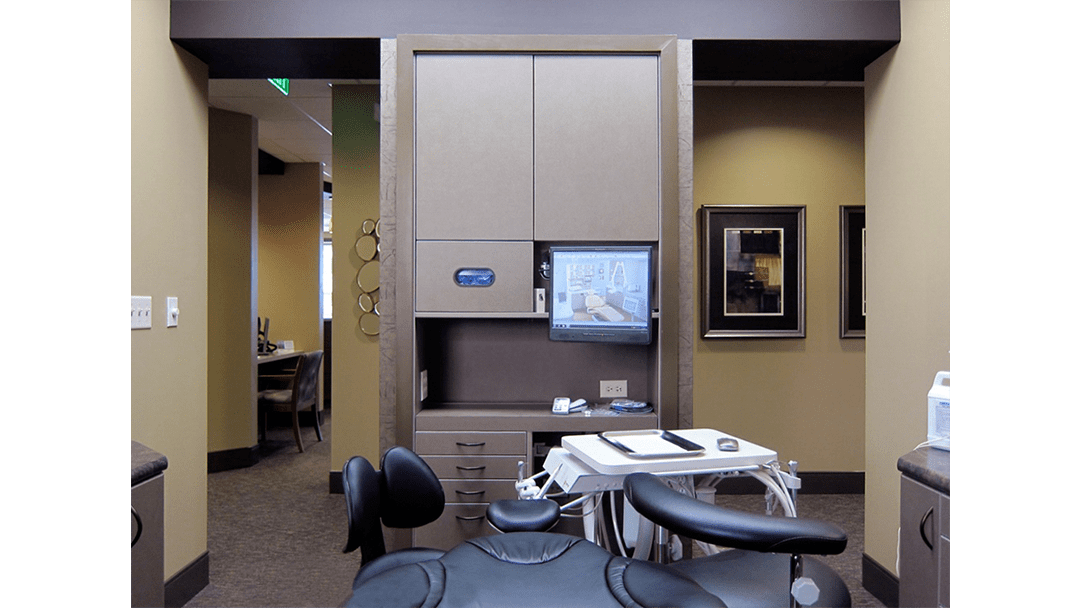 Dr. Campbell Dental Office Design, Treatment