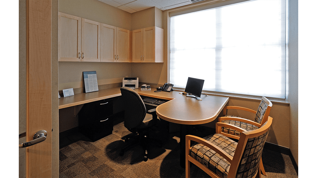 Dr. Dubravec Periodontic, Dental Office Design, Private Office