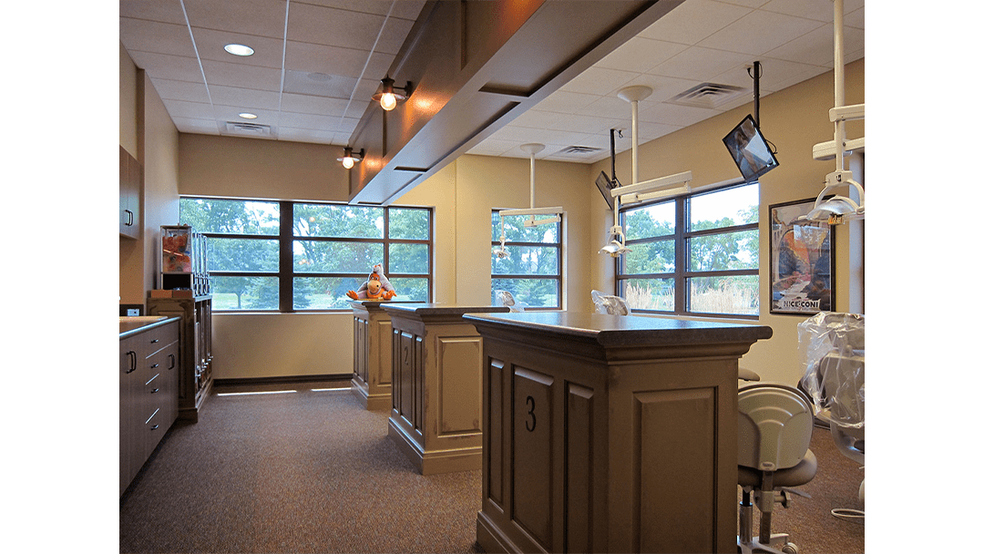 Dr. Fought Pediatric Dental Office Design, Bay 1