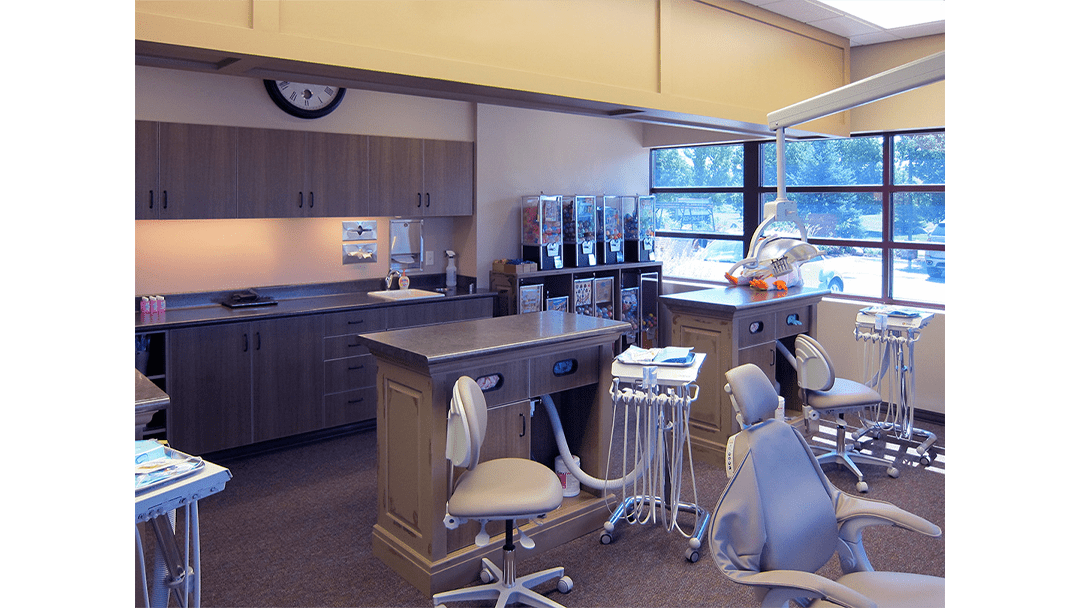 Dr. Fought Pediatric Dental Office Design Bay