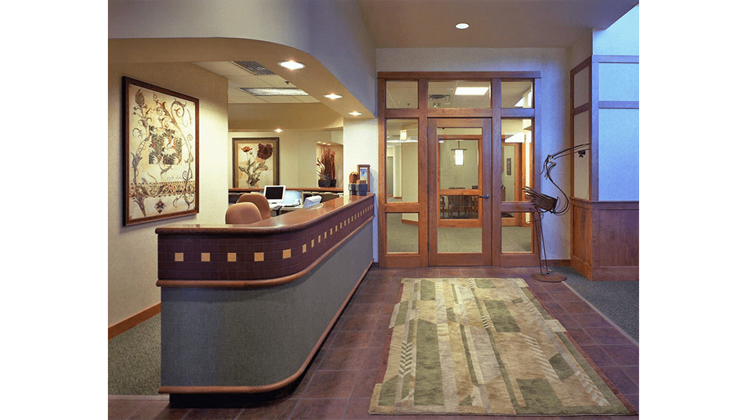 Dr. Gietzen Dental Office Design, Reception