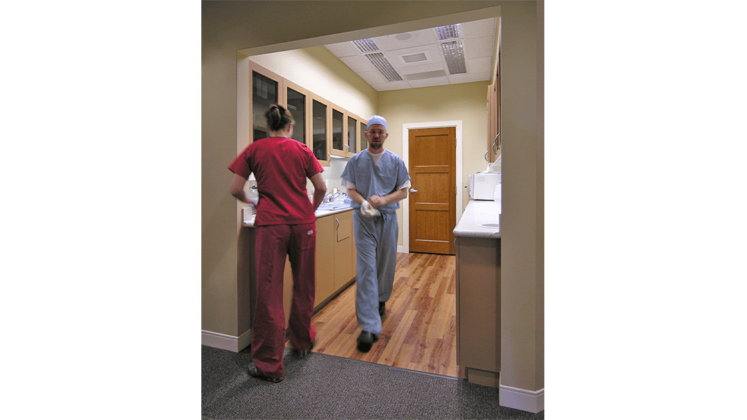 Dr. Glenn Oral Surgery Dental Office Design, Sterilization