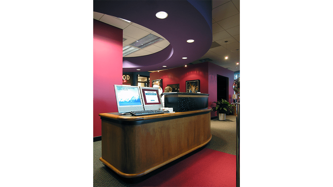 Dr. Harre Orthodontic Dental Office Design, Check-In