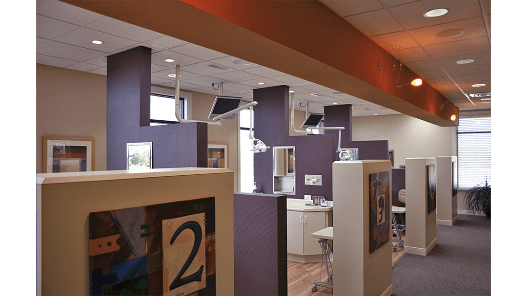 Dr. Hohl Orthodontic Dental Office Design, Bay