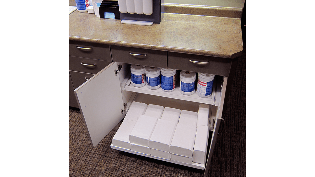 Dr. Hohlen Dental Office Design Sterilization Cabinetry