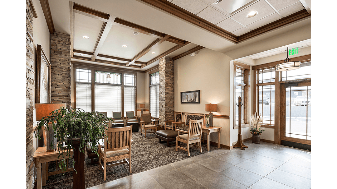 Dr. Jirsa Periodontic Dental Office Design, Reception