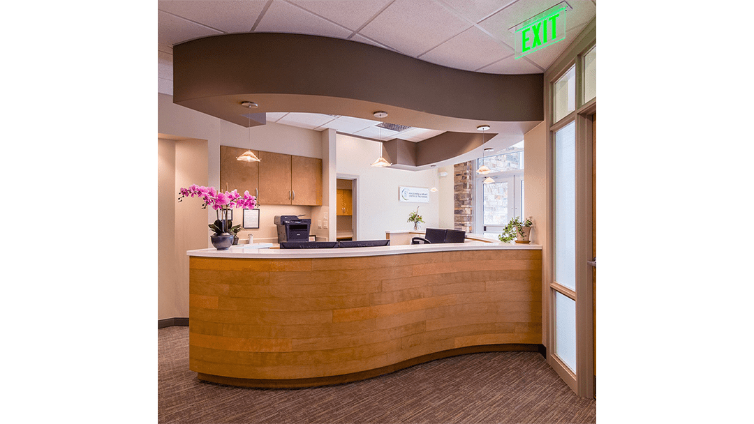 Dr. Lee Periodontic Dental Office Design, Reappoint