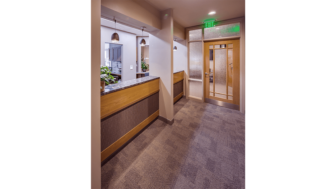 Dr. Lofthus Periodontic Dental Office Design, Reappointing