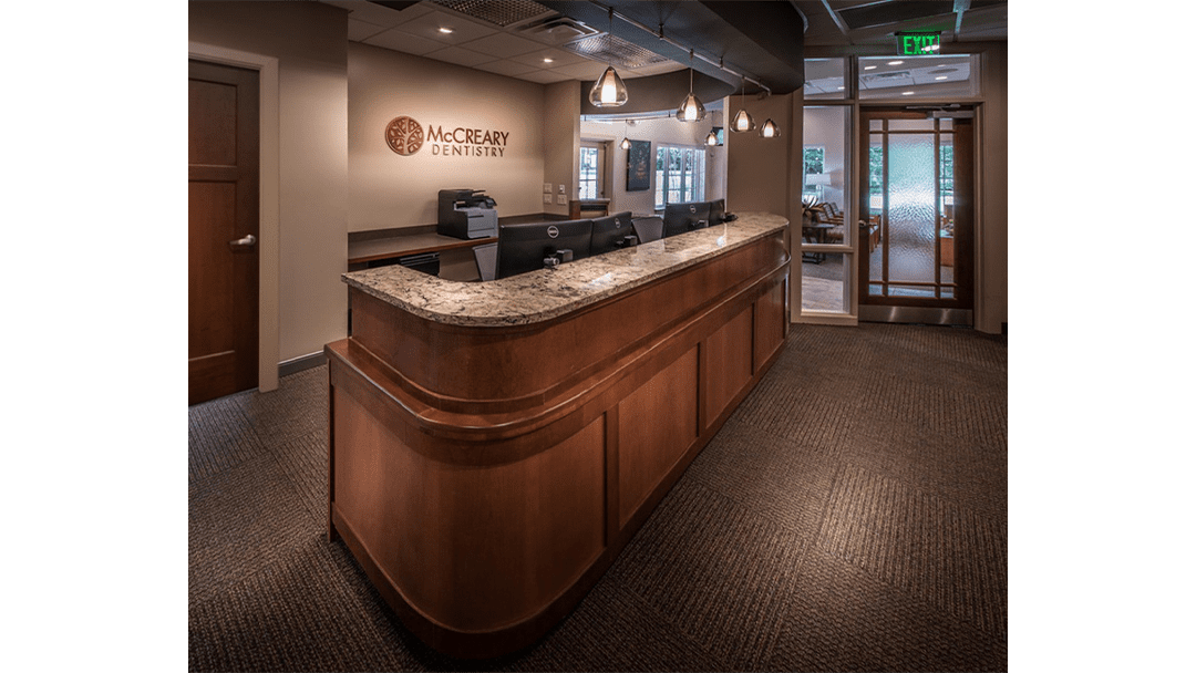 Dr. McCreary Dental Office Design, Reappointing