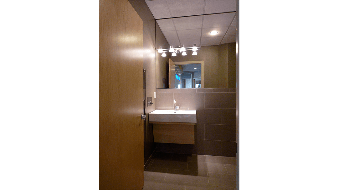Dr. Rallis Orthodontic Dental Office Design Restroom