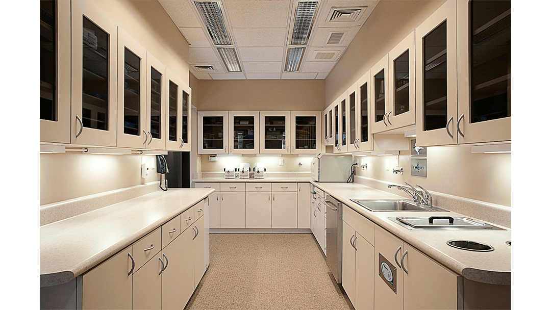Dr. Springmann Dental Office Design, Sterilization