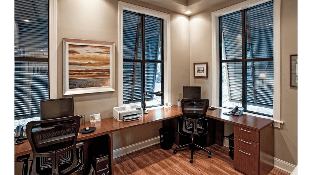 Drs. Gibson & Caouette Dental Office Design, Doctors' Office