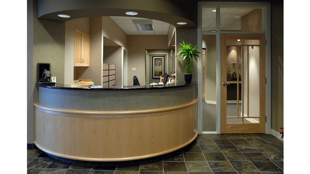 Drs. Miles & Miles Endodontic Dental Office Design, Greeting