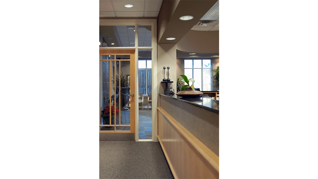 Drs. Miles & Miles Endodontic Dental Office Design, Reappoint