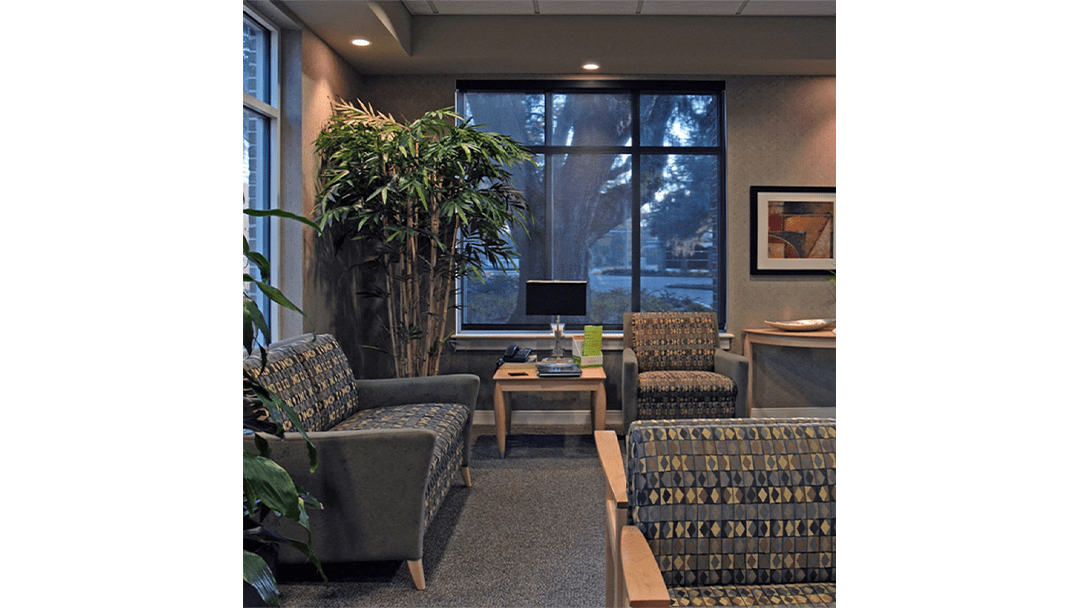 Drs. Miles & Miles Endodontic Dental Office Design, Reception