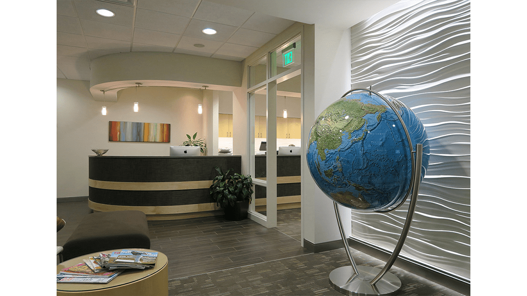 Genesis Orthodontics Dental Office Design, Greeting