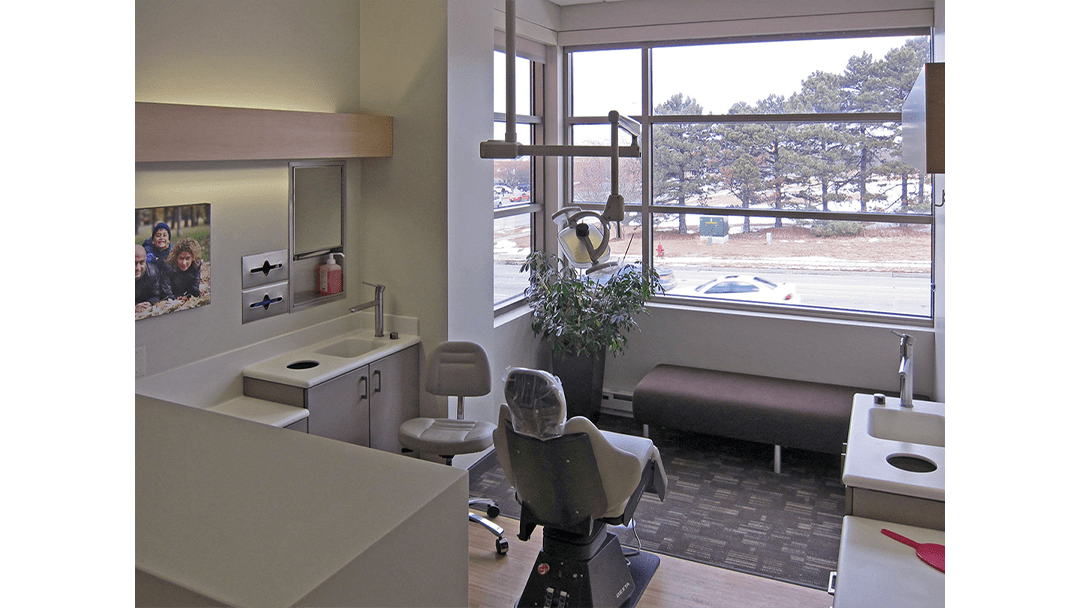 Genesis Orthodontics Dental Office Design Private Chair
