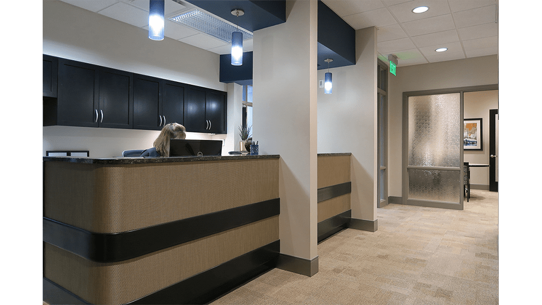 Pioneer Periodontics Office Design, Reappointing