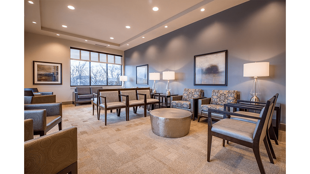 Pioneer Periodontics Office Design, Reception
