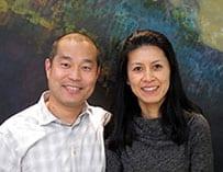 Dr. Ken Akimoto and Dr. Hitomi Akimoto