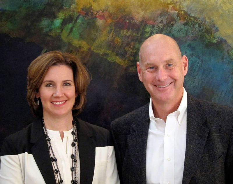 Dr. Leslie Monroe and Dr. Rob Richardson