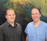 Dr. David Rallis and Dr. David Cleverly