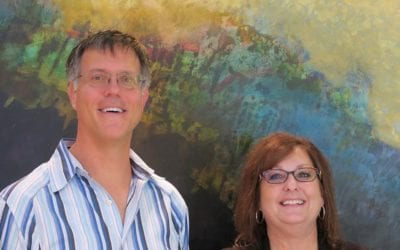 Drs. Vidas Noreika and Valerie Haughtington