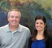 Dr. Thomas Hall and Dr. Sara Rauen